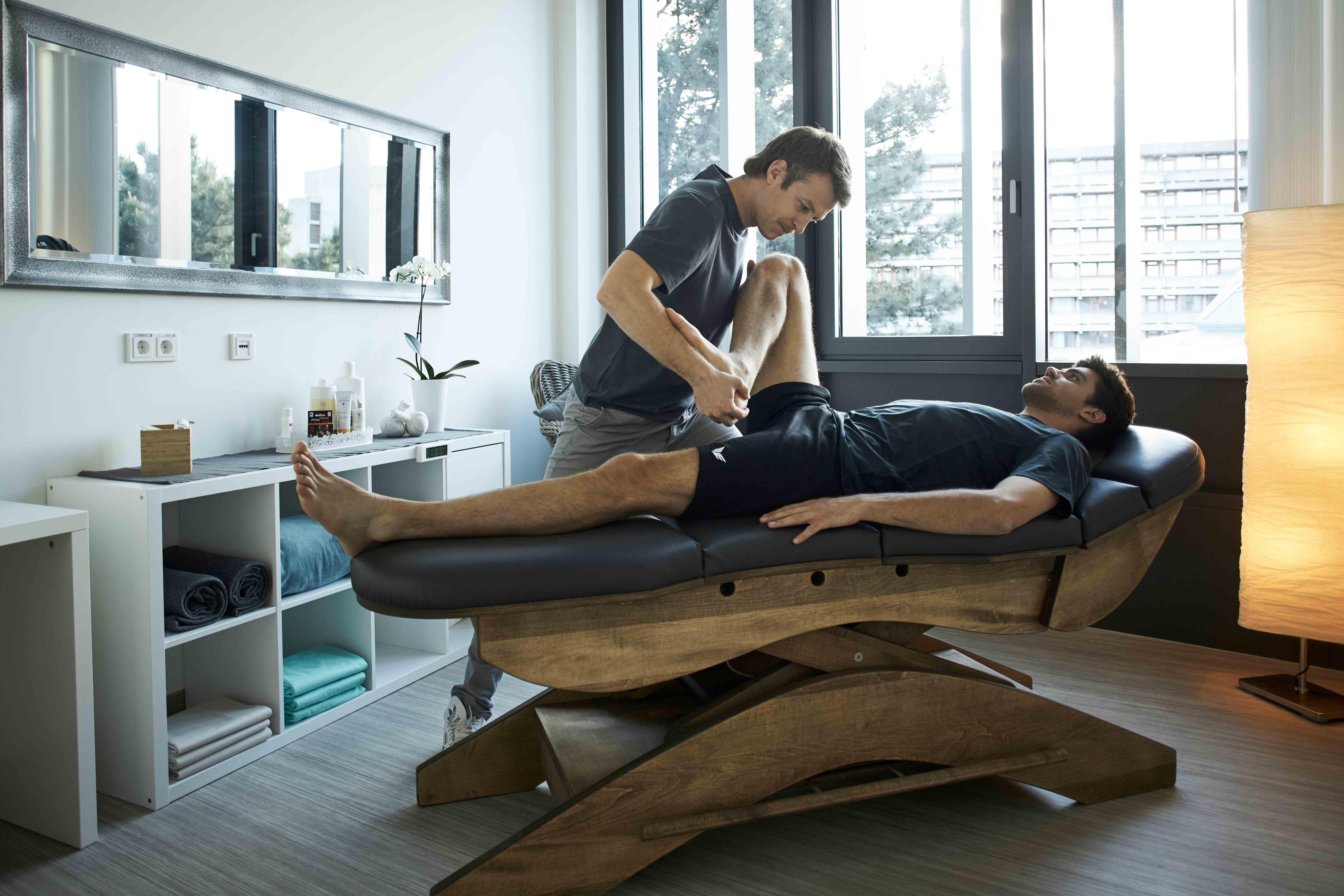 Behandlung Knie nach Kreuzbandriss