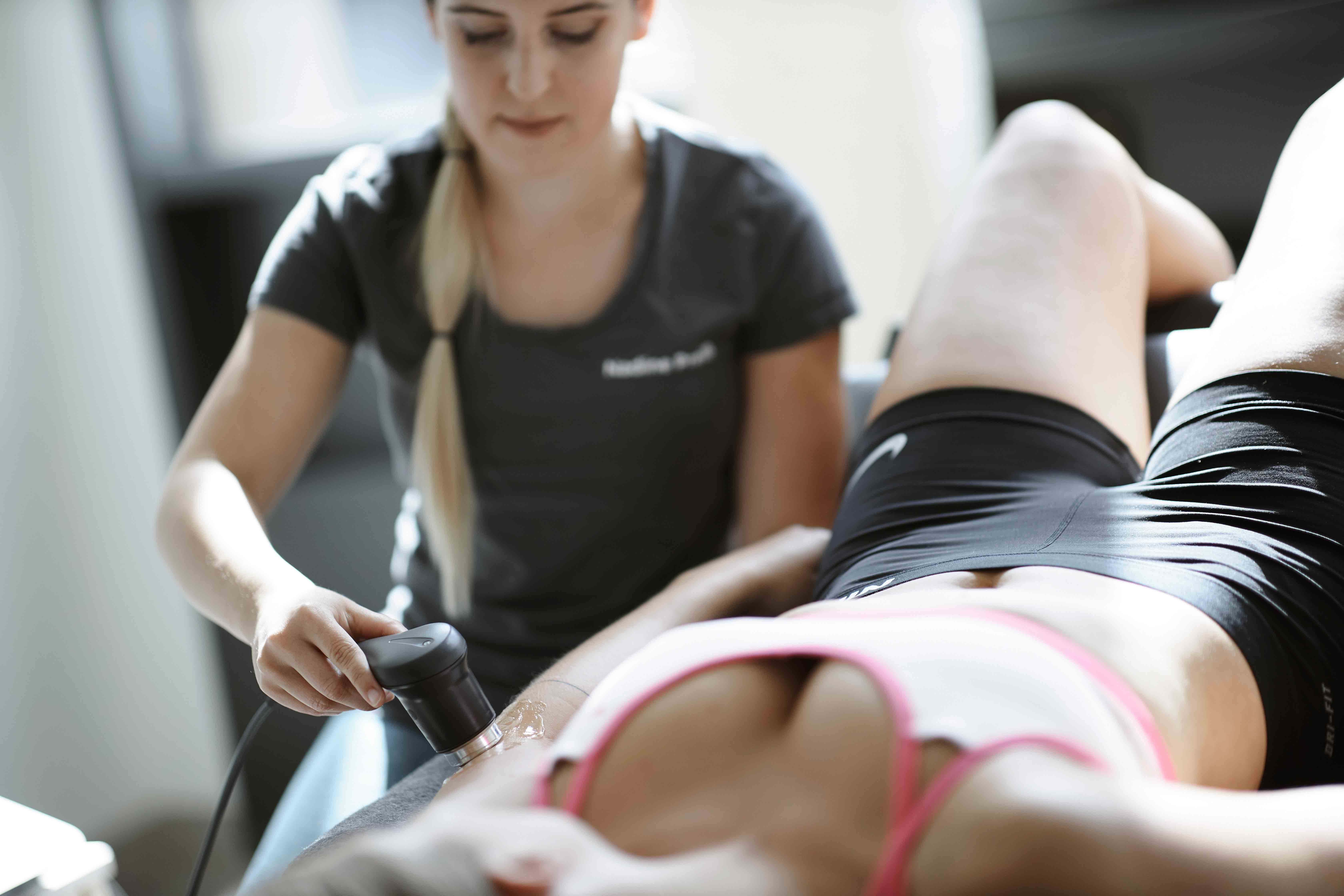 Ultraschall - Physiotherapie RHOEN REHAB